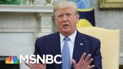 Trump: President Xi 'Acted Responsibly' Regarding Hong Kong Protests | MSNBC 3