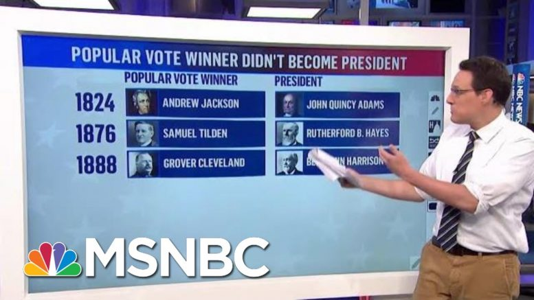 Kornacki: Trump Could Once Again Win By Pulling Electoral College, Losing Vote | MTP Daily | MSNBC 1