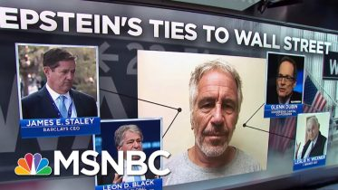 NYT Details Epstein's Deep Ties To Wall Street | Velshi & Ruhle | MSNBC 6