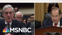 Robert Mueller Testifies Under Oath That His Report Does Not Exonerate President Trump | MSNBC 2