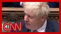 Boris Johnson compared to Donald Trump in UK parliament 6