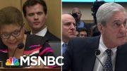 Dem Questioning Highlights Trump's Attempts To Interfere In Mueller Probe | Hardball | MSNBC 4