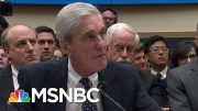 Some Surprises Among Damning Mueller Testimony, Bad Day For Donald Trump | Rachel Maddow | MSNBC 4