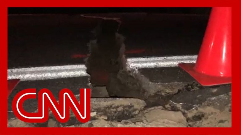 7.1 magnitude earthquake shakes Southern California 1