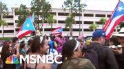 Thousands Celebrate Puerto Rico Gov. Resignation: 'Bye Bye Ricky'   Katy Tur   MSNBC 3
