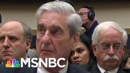 Robert Mueller Testimony Laid Bare Donald Trump Team's Untruthfulness   Rachel Maddow   MSNBC 4