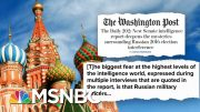 Senate Intel Report Details Extensive Russian Interference In 2016 Election   Deadline   MSNBC 3