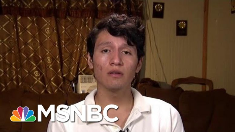 Detained American Teen Speaks About His Ordeal | All In | MSNBC 1