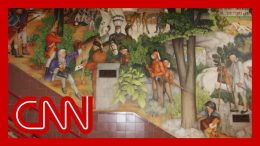 Screaming match erupts over vote to remove mural 8