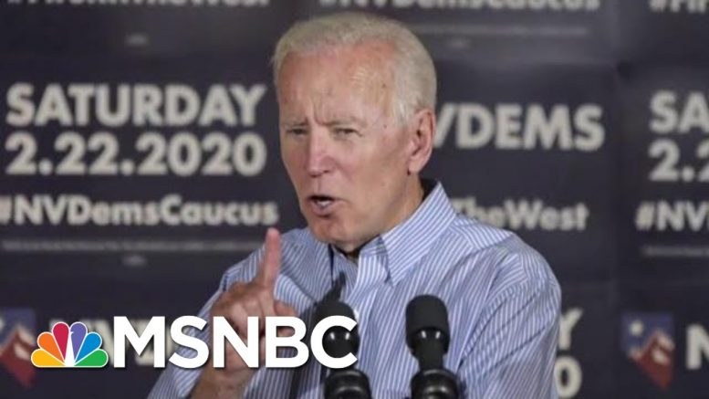 Joe Biden Takes Huge Lead With Black And White Voters | Morning Joe | MSNBC 1
