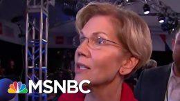 Elizabeth Warren: People Go Broke Over Health Care Costs | MSNBC 1