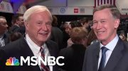 John Hickenlooper Doubts Jobs Guarantee: 'I Understand A Sinkhole When I See One'   MSNBC 3