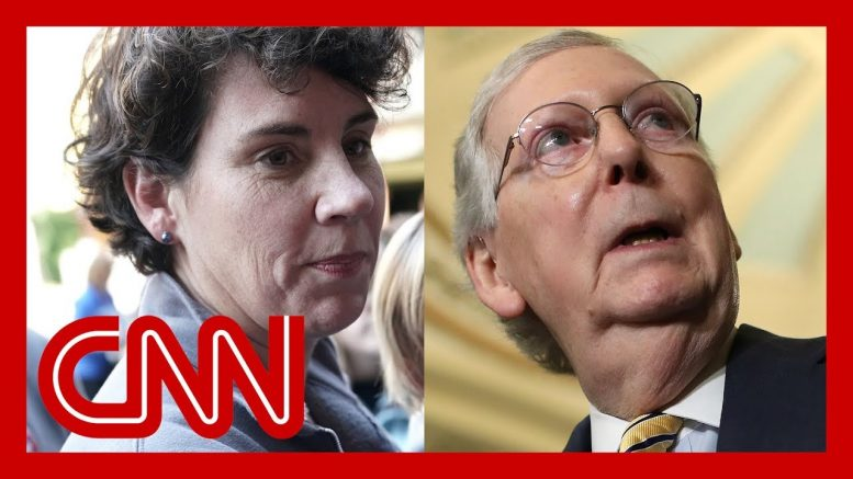 Mitch McConnell's 2020 challenger speaks out 1