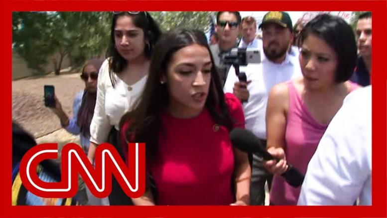 Ocasio-Cortez visits border facility: 'I was not safe' 1