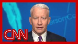 Anderson Cooper: Trump does this when he's blocked on something 7