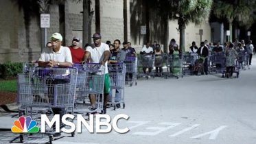 Florida Residents Prepare For Worst As Hurricane Dorian Approaches | Velshi & Ruhle | MSNBC 4