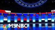 Health Care And Immigration Dominate 2nd Democratic Debate   Velshi & Ruhle   MSNBC 4