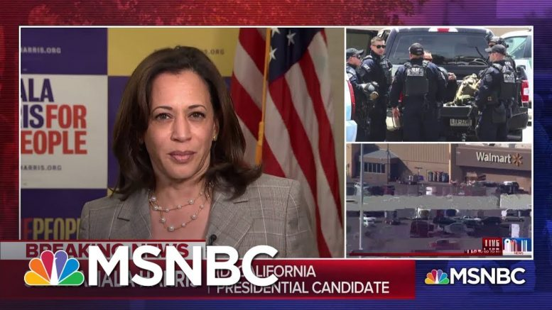 "Sen. Harris On Trump's Response To Shootings: ""Any Words That He Speaks Today I Find To Be Empty"" 1"