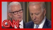Biden gets personal after Anderson Cooper's question 2