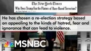 Frank Figliuzzi: Trump Failed By Not Directly Condemning White Supremacists | The 11th Hour | MSNBC 4