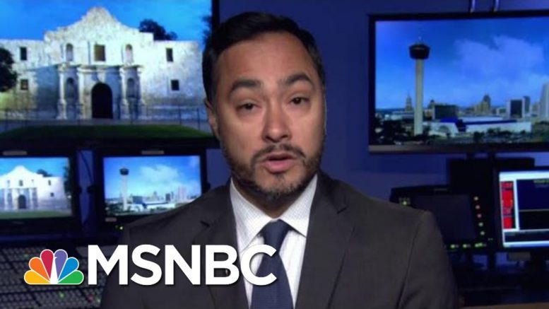 Rep. Joaquin Castro Wants Trump Donors To 'Think Twice' About Contributions | Morning Joe | MSNBC 1
