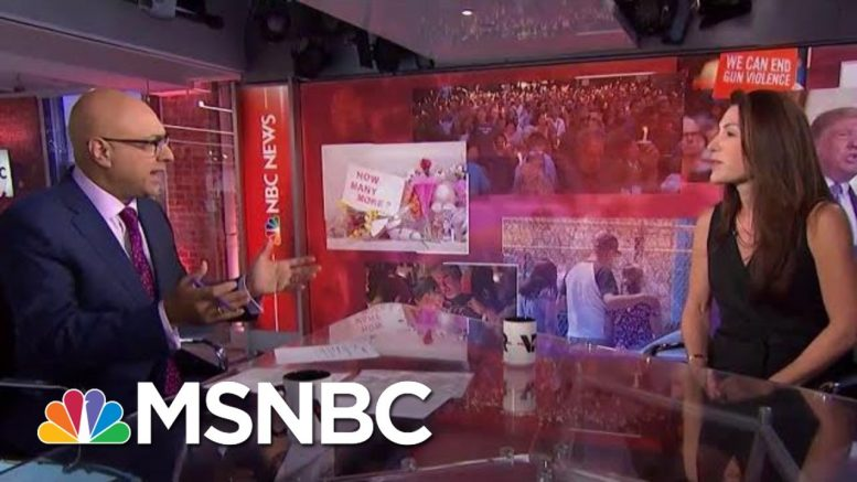 A Closer Look At The Politics Of Guns | Velshi & Ruhle | MSNBC 1