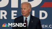 Joe Biden Calls Out Donald Trump For Lack Of 'Moral Leadership' | Deadline | MSNBC 5