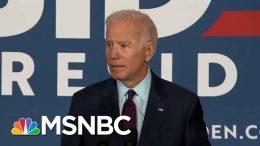 Joe Biden Calls Out Donald Trump For Lack Of 'Moral Leadership' | Deadline | MSNBC 9