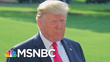 Donald Trump Greeted Like A 'Rock Star' While Visiting Mass Shooting Victims | The 11th Hour | MSNBC 6