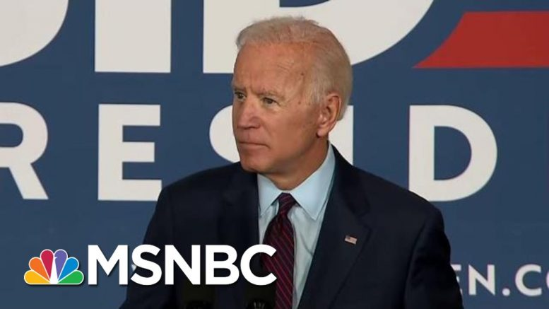 Joe Biden: President Donald Trump Fanned The Flames Of White Supremacy | The Last Word | MSNBC 1