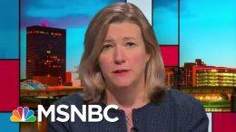 Divisive Donald Trump Presence Disrupts Dayton Community's Healing Unity   Rachel Maddow   MSNBC 7