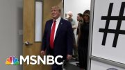 President Donald Trump Plays The Victim While Visiting Victims | Morning Joe | MSNBC 2