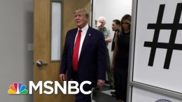 President Donald Trump Plays The Victim While Visiting Victims | Morning Joe | MSNBC 7