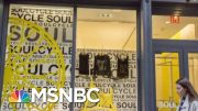 SoulCycle, Equinox Face Boycott Calls Due To Owner's Trump Fundraiser | Velshi & Ruhle | MSNBC 3