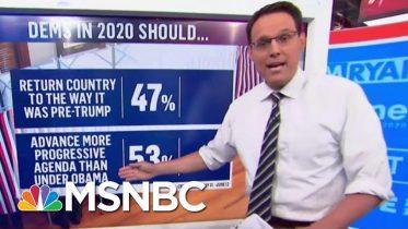 Steve Kornacki: More That Half Of Democrats Want A More Progressive President Than Obama | MSNBC 5