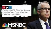 Fmr FBI Official Sues Trump For Unlawful, Unconstitutional Acts | The Beat With Ari Melber | MSNBC 5