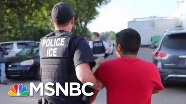 ICE Raid Speaks Louder Than Donald Trump Platitudes On El Paso Shooting | Rachel Maddow | MSNBC 10