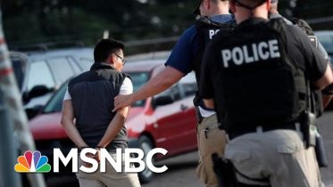 Children Left in Tears After Undocumented Workers Swept Up in ICE Raids - The Day That Was | MSNBC 6