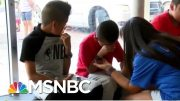 'Divider-In-Chief': Trump-Ordered ICE Raid Leaves Kids Crying | The Beat With Ari Melber | MSNBC 5