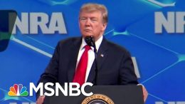 Donald Trump Echoes Previous Unfulfilled Promises On Gun Reform | Deadline | MSNBC 3