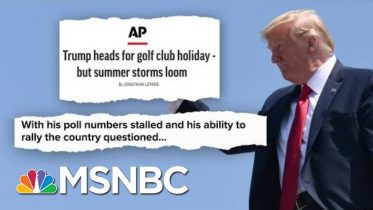Golf, Twitter, And Cable News. What Could Go Wrong? | Deadline | MSNBC 10