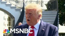 From The Standpoint Of President Donald Trump | All In | MSNBC 9
