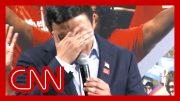 Presidential candidate Andrew Yang breaks down over gun violence 3