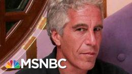 Multiple Investigations Underway In Jeffrey Epstein Death | Velshi & Ruhle | MSNBC 9