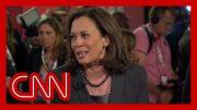 Kamala Harris reacts to Joe Biden saying 'Go easy on me, kid' 4
