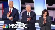 Democrats Hit Joe Biden Repeatedly In Contentious Second Night Of Debate | The 11th Hour | MSNBC 3