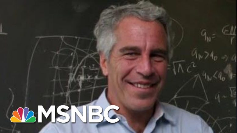 Unfounded Conspiracy Theories Flourish Online Over Epstein's Death | Velshi & Ruhle | MSNBC 1