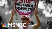More Democratic 2020 Candidates Are Backing An Assault Weapons Ban | The 11th Hour | MSNBC 5