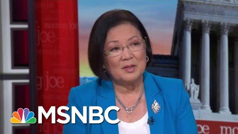 Yet Another Assault On Immigration: Senator Mazie Hirono   Morning Joe   MSNBC 1