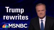 The President Donald Trump Team Rewrites The Statue Of Liberty | The Last Word | MSNBC 2